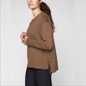 Athleta Brown Nopa Sweater